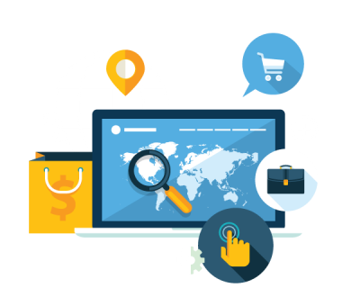 Ecommerce website vector Australia